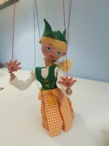 1960's DUTCH GIRL Marionette #SS2 Toy Vintage Pelham Puppets (England)