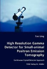 High Resolution Gamma Detector for Small-animal Positron Emission Tomography