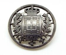 FINE VICTORIAN 1887 SILVER COIN CUT OUT PIN ~MAKE AN OFFER~