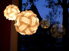 lampshade lamp shades light shade ceiling retro white pack of 2 30cm diameter