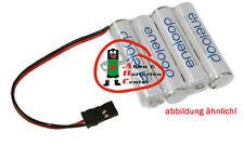 Eneloop Receiver Battery 4.8V-750mAh Graupner St 4 Rows AAA / Mirco