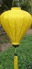 Lampion Seide lampen (Gelb)