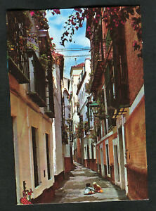 C1990s View: Children, Pimienta Street, Santa Cruz Quarter, Seville