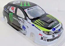 STI Pre-Painted RC Body 1/10th Scale Ken Block Monster HPI Trax Kyohso Subaru