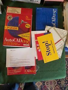 AutoCad LT 97 CD Upgrade W/ Symbols 97 Software Discs Still Sealed