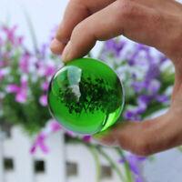 Green Asian Rare Natural Quartz Magic Crystal Healing Ball Sphere 40mm +LZ.