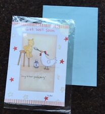 Get Well Soon Greeting Card Well Wishes NEW