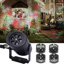 projecteur laser à LED allume fête de Noël jardin en plein air de Stage Light