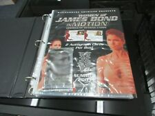 2003 Women of James Bond In Motion Complete Master Set Rittenhouse Archives