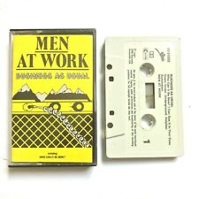 MEN AT WORK ‎– Business As Usual Cassette TAPE 1982 EPC 40-85669
