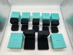 Tiffany&CO. Jewelry ring box 5 set used necklace 2set gift case 0614004A192N