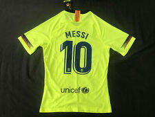 FC Barcelona Away Jersey 2018/2019 Player Version Messi #10 Medium