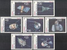 Nicaragua 1987 satelliti/spazio/razzi/CAPSULE/comunicazioni Set 7 V (n43291)