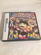 Carnival Games - Nintendo DS Game. Case and manual included /tested