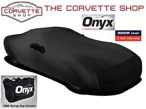 Corvette Onyx Car Cover C5 1997-2004 Lycra Spandex Indoor Lightweight 52265