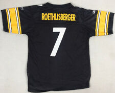 Pittsburg Steelers Ben Roethlisberger Jersey Youth Size L Large Reebok NFL Kids