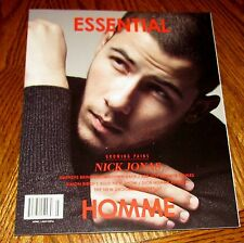 NICK JONAS HOMME ESSENTIAL Magazine Barneys Simon Birch Grooming June July 2016