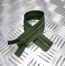 "Británico Militar OPTI 8"" Cremallera Cerrada Verde cremallera/Cierre cremallera"