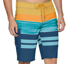 E679 - Reef Mode Board Shorts - NWT Mens 32 Orange / Multi - #29267