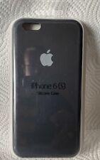 Original Apple iPhone 6 / 6s Silikon Case in Schwarz