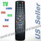 Universal TV Remote Control 6 in 1 DVD Cable VCR Replace Broken Controller E066