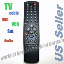 Universal TV Remote Control 6 in 1 DVD Cable VCR Replace Broken Controller E066