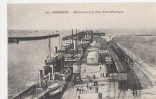 France, Cherbourg, Panorama de la Gare Transatlantique Postcard, B275