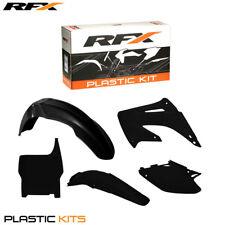 RFX Plastic Kit All Black For Honda CR 125 250 2004 2005 2006 2007