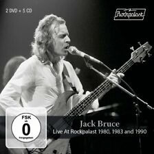 JACK BRUCE & FRIENDS - Live At Rockpalast 1980  1983 And 1990 - 5 CD + 2 DVD Mad