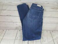 Adriano Goldschmied Blue Prima Mid Rise Cigarette Skinny Women Jeans Size 27R