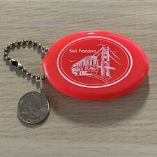 New ListingSan Francisco California Cable Car Golden Gate Coin Purse Pouch Keychain Keyring
