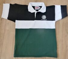 FOREIGN LEGION-Rugby Shirt-Black/White/Green-LARGE-Short Sleeves NEW-Not Used