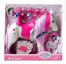 Zapf Creation Baby Born Interactivo Unicornio Hair & Music & Juego De Luz Caballo, Pony