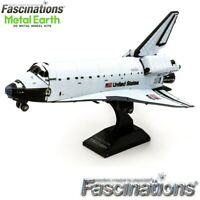 Metal Earth Space Shuttle Discovery NASA Orbiter 1:355 Scale 3D Model DIY Kit