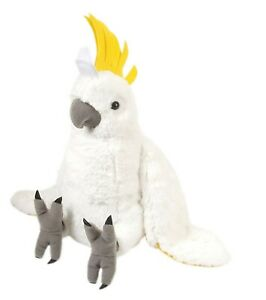 Cockatoo Sulpher Crested Plush Soft Toy 30cm by Wild Republic