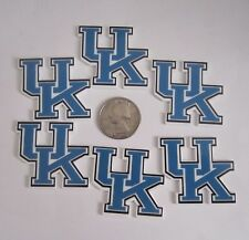 6 NEW UNIVERSITY OF KENTUCKY FLAT BACK PLANAR RESINS CABOCHONS*SHIPS FREE*