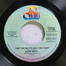 Soul 45 Barry White - Can'T You See It'S Only You I Want / Don'T Make Me Wait To