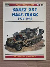 Osprey SDKFZ 251 half track german  tank reference book