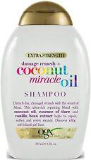 Organix Extra Strength Damage Remedy + Coconut Miracle Oil Shampoo 13 oz