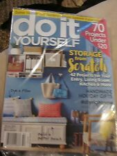 DO IT YOURSELF MAGAZINE WINTER 2015 70 PROJECTS STORAGE HOLIDAY GIFTS BRAND NEW