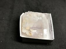 FLUORITA - Fluorite - Berbes, Asturias - SPAIN MINERAL - CAJA 4x4 F701