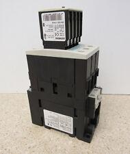 SIEMENS SIRUIS 3RT1035-1BB40 55A/600V CONTACTOR/3RH1921-1FA22 10A/240V AUX.BLOCK