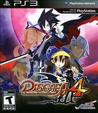 Disgaea 4: A Promise Unforgotten (Sony PlayStation 3 PS3, 2011) Brand New