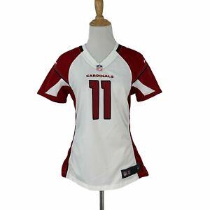 Nike Larry Fitzgerald Jersey Womens Size S Arizona Cardinals NFL Away Game Shirt