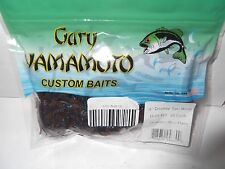 GARY YAMAMOTO DOUBLE TAIL GRUBS 20 Count, Cinnamon Blue Flake