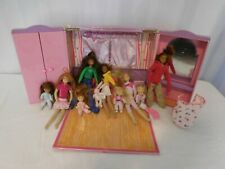 Only Hearts Club Club House Doll Playset + Dolls Furniture Little Sisters + Rabb