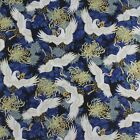 Furoshiki Japanese Traditional Printed Fabric Wrapping Cloth Gift Flower Crane