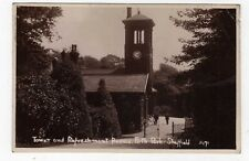 YORKSHIRE, SHEFFIELD, FIRTH PARK, TOWER & REFRESHMENT ROOMS, RP