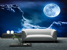 Sky with Clouds Photo Wallpaper Wall Mural DECOR Paper Poster Free Paste