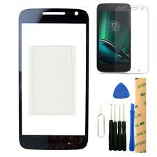 For Motorola Moto G4 Play XT1607 XT1609 Black Outer Front Glass Lens Screen OCA